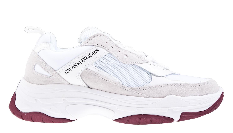purchase cheap 49ab4 7e4bb Calvin Klein Maya wit sneaker.