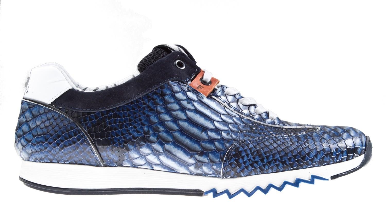 Floris Snake 1621901 G12 Sneaker Bommel Van Blauw Jeans 8OFx8pqB
