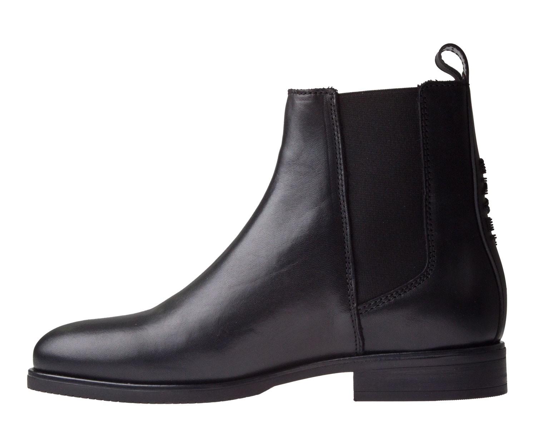 Tommy Hilfiger Pin Logo Chelsea Boot zwart enkellaars