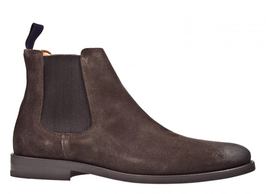 Gant Max bruin nubuck chelsea boot