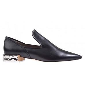 Attilio Giusti Leombruni D 749004 zwart loafer