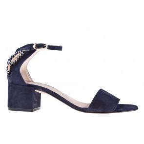 Attilio Guisti Leombruni D 631014 blauw sandaal