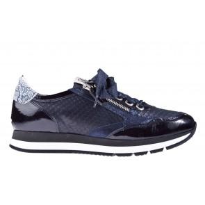 DL-Sport 4260 H blauw print sneaker