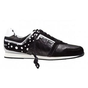 Floris van Bommel 85087/00 zwart/wit sneaker