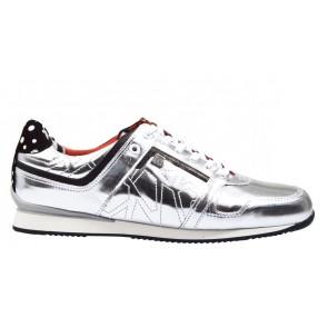 Floris van Bommel 85087/01 zilver sneaker