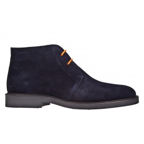 Gant Spencer blauw suéde veterboot.