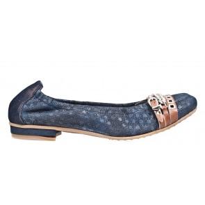 Maripé 20447 blauw ballerina