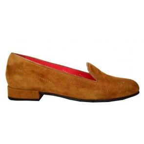 Pas de Rouge E 310 cognac loafer