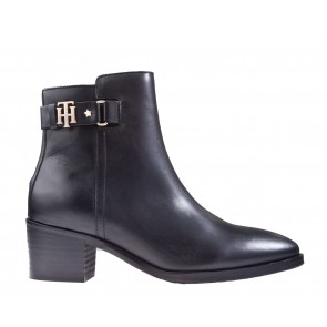 Tommy Hilfiger The Buckle Mid Heel Boot