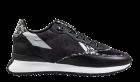 Floris van Bommel 85349/01 black suède sneaker
