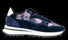Floris van Bommel 85351/03 blue multimetalsneaker.