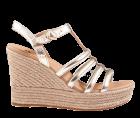 UGG Cressida gold metallic sandaal