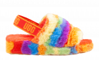 UGG Fluff Yeah slide multi color slipper