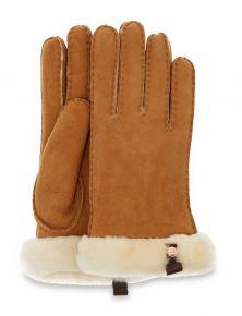 UGG Shorty Glove W/Leather Trim