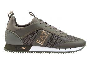 Armani X8X027 olijf groen sneaker
