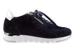 DL-Sport 5026 blauw suède sneaker