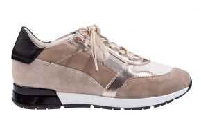 DL-Sport 5041 beige combi suède sneaker