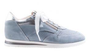 DL-Sport 5068 lichtblauwsuède sneaker.