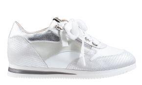 DL-Sport 5069 wit leer sneaker