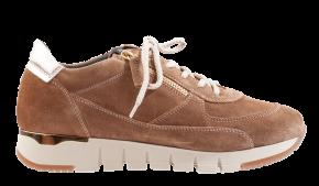 DL-Sport 6021 cognac suède Sneaker.