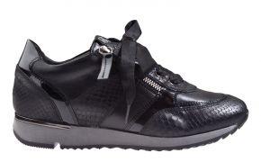 DL-Sport 4819 zwart combi sneaker.