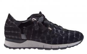 DL-Sport 4856H zwart sneaker.