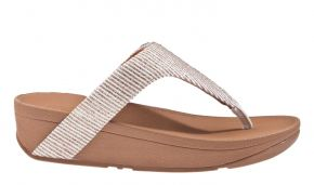 Fitflop Lottie Glitter Stripe Toe-Thongs