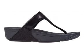 Fitflop Shimmy suède Toe-post