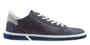 Floris van Bommel 13350/19 G1/2 greyNubuck lizard sneaker.
