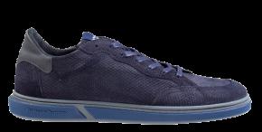 Floris van Bommel 13350/26 G1/2 blue print suède Sneaker
