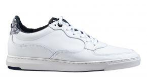 Floris van Bommel 16321/04 G1/2 white calf sneaker