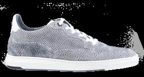 Floris van Bommel 16321/08 G1/2 Offwhite print suède sneaker