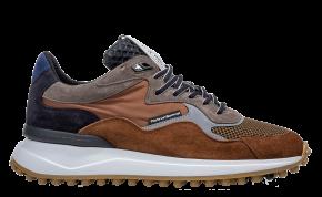 Floris van Bommel 16339/20 G1/2 cognac suède sneaker
