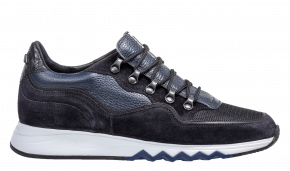 Floris van Bommel 16393/20 blue suède sneaker