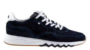 Floris van Bommel 16397/00 G1/2 blue suèdeSneaker.