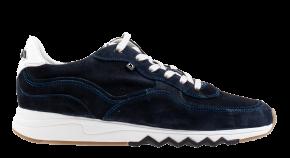 Floris van Bommel 16397/00 G1/2 Dark Blue suède sneaker