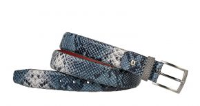 Floris van Bommel 75188/86 Blue snake riem