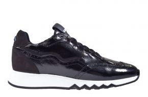 Floris van Bommel 85287/04 zwart lakleer sneaker