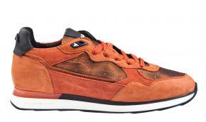 Floris van Bommel 85312/00 rust nubuck combi sneaker.