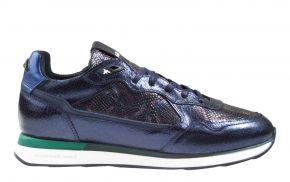 Floris van Bommel 85312/05 navy craquelé sneaker
