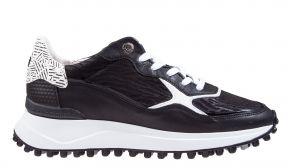 Floris va Bommel 85343/04 Black Print sneaker