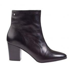 Floris van Bommel 85727/00 Black calf enkellaars
