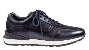 Greve Podium blauw kalfsleer sneaker