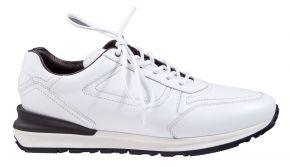 Greve Podium witkalfsleer sneaker.