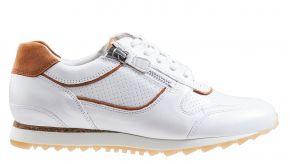 Hassia 30 1916-0629 H wit leer sneaker