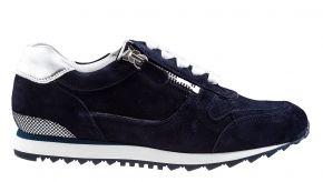 Hassia 30 1919-3276 blauw suède sneaker