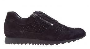 Hassia 30-1932 H zwart suède sneaker