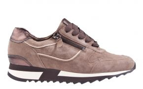 Hassia 1822-1999 taupe suède sneaker