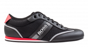 Hugo Boss 50370438 Lighter Lowp mxme zwart rood Sneaker