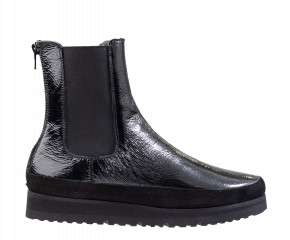 La Cabala L935504 zwart lak enkellaars